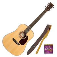 Martin Dreadnought Junior Electro Acoustic Guitar with Free Gifts