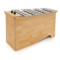 Bass Glockenspiel by Gear4music Chromatic Half