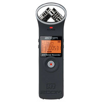 Zoom H1 Digital Field Recorder Matte Black