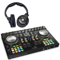 Native Instruments Traktor Kontrol S4 MK2 with KRK KNS8400 Headphones