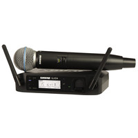 Shure GLXD24UK/B58 Beta 58A Digital Wireless Vocal Mic System - Nearly New