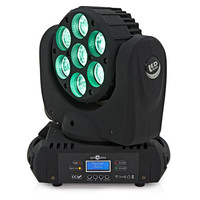 7 x 15w LED Moving Head Light by Gear4music