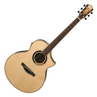 Ibanez AEW51 Electro Acoustic Guitar Natural High Gloss
