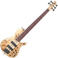 Ibanez SRSC805-NTF Singlecut Bass Guitar Natural Flat