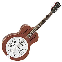 Resonator Guitar by Gear4music Natural - B Stock