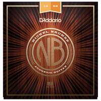 Daddario Nickel Bronze Guitar Strings Light Top Med Bottom 12-56