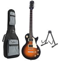 Epiphone Les Paul 100 Guitar Vintage Sunburst with Free Stand & Bag