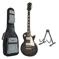 Epiphone Les Paul Ultra III Midnight Ebony with Free Stand & Bag