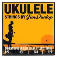 Dunlop Ukulele Soprano Pro- 4 String Set