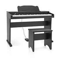JDP-1 Junior Digital Piano by Gear4music Matte Black - Nearly New