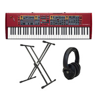 Nord Stage 2 EX HP76 Stage Piano with Stand and Headphones