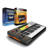 Novation Launchkey 25 with Rob Papen Predator VST