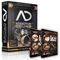 XLN Audio Addictive Drums & Modern Jazz Sticks & Brushes Bundle