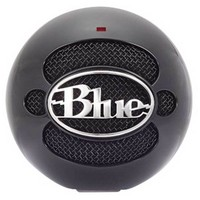 Blue Snowball USB Microphone Black