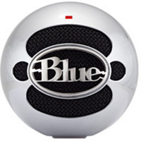 Blue Snowball USB Microphone Brushed Aluminium