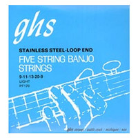 GHS 5-String Banjo Strings Regular Light