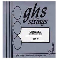 GHS Standard Ukulele Strings White Nylon