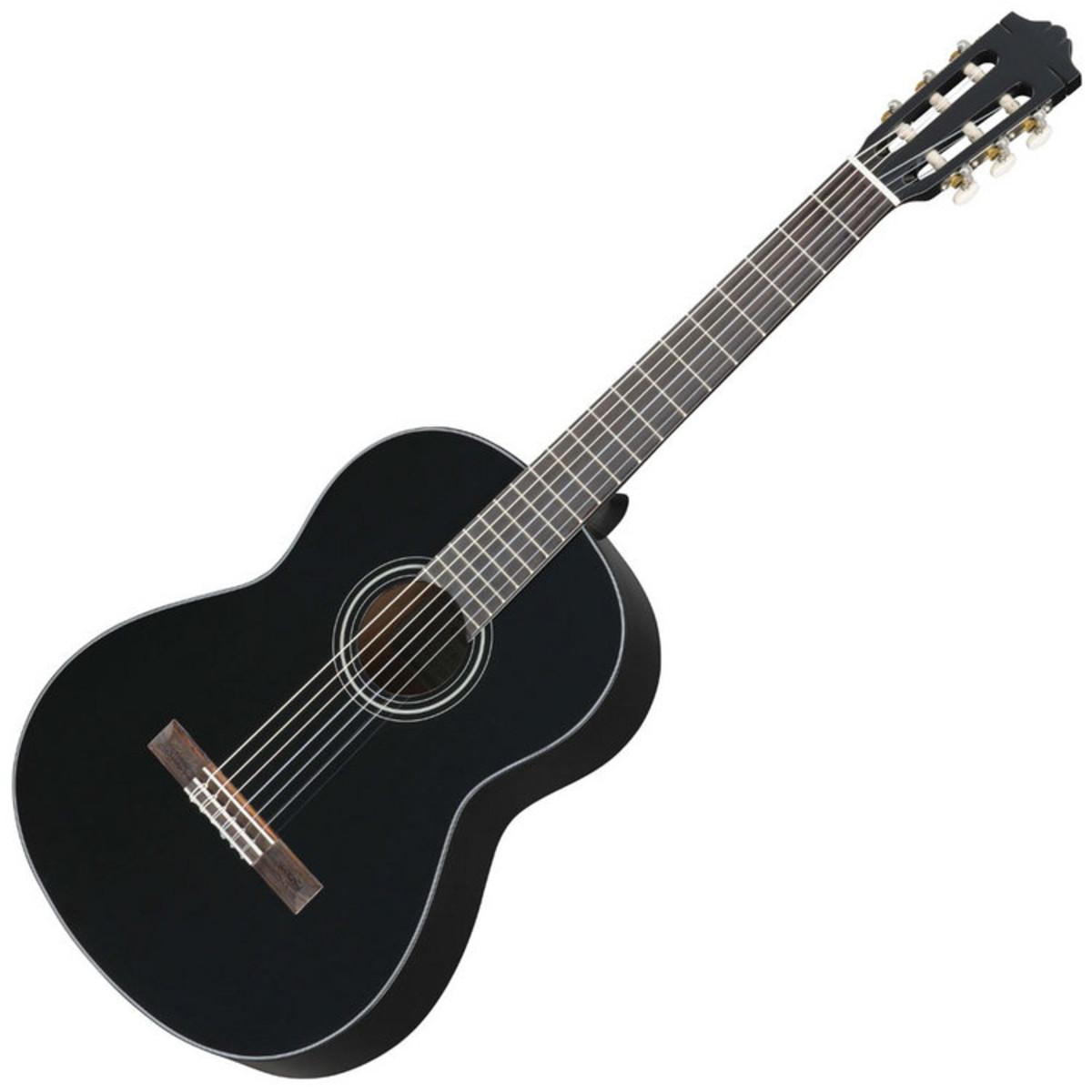 Yamaha C40 guitare acoustique classique, noir à Gear4Music.com