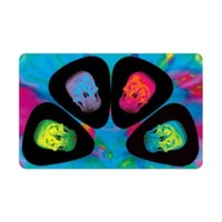 PikCard Picks (4) Colour Skulls
