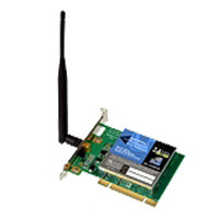 Wireless PCI Card 802.11g 54Mbps
