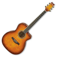 Discontinued Ibanez A300E Acoustic Ambiance Guitar Vintage Violin
