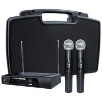 KAM KWM11 Dual Handheld Wireless Microphone System 173.8/175.0