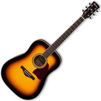 Ibanez AW300 Acoustic Artwood Guitar Vintage Burst