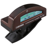 Boss TU-10 Clip-On Tuner Brown