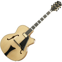 Hofner New President Archtop Jazz Electric Guitar Natural