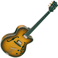 Hofner German President Custom Electric Guitar Sunburst