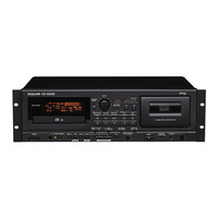 Tascam CD-A550 CD Player & Cassette Deck