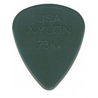 Jim Dunlop 0.73mm Nylon Standard Pick Grey Players Pack of 12