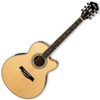 Ibanez AEL10E Electro-Acoustic Guitar Natural with FREE Gig Bag