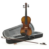 Student Plus 1/4 Violin Antique Fade by Gear4music