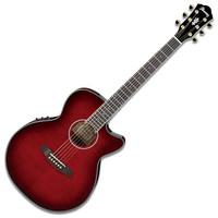 Ibanez AEG24II Electro Acoustic Guitar Hibiscus Red Sunburst