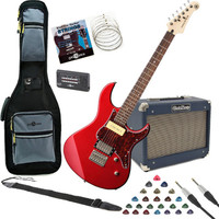 Yamaha Pacifica 311H Electric Guitar Red with SubZero 10W Amp Pack