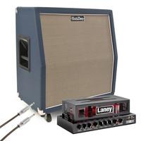 Laney Ironheart IRT15H with SubZero 4x10 Celestion Speaker Cabinet