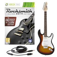Rocksmith 2014 Xbox 360 + LA Electric Guitar Sunburst