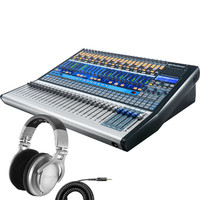 PreSonus StudioLive 32.4.2AI Mixer + Shure SRH940 Headphone Bundle