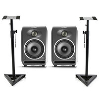 Focal CMS 50 Active Studio Monitor Speakers (Pair) with Stands