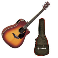 Yamaha FGX720SCA Electro Acoustic Guitar Sunburst with Free Gig Bag