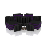 Universal Acoustics Mercury 5 Solar System Kit Purple and Charcoal