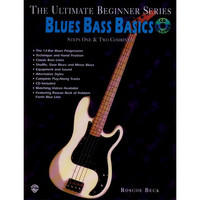 Blues Bass Basics: Step 1+2 Book/CD/DVD