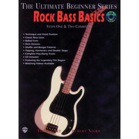 Rock Bass Basics: Steps 1 & 2 (Book/CD/DVD)