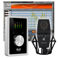 Apogee Duet IOS sE Electronics 4400A Mic + Waves Tune Lite Bundle