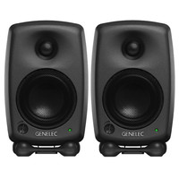 Genelec 8020C Bi-Amped Studio Monitor Dark Grey (Pair)