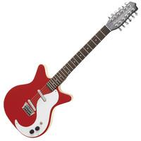 Danelectro DC59 12 String Guitar Red
