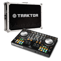 Native Instruments Traktor Kontrol S4 MK2 and Flight Case Bundle