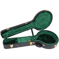 Kinsman Deluxe 5 String Banjo Case Black