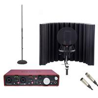 Focusrite 2i4 USB Audio Interface and sE X1 Mic Producer Bundle